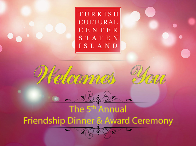 The 5th Annual Friendship Dinner & Award Ceremony