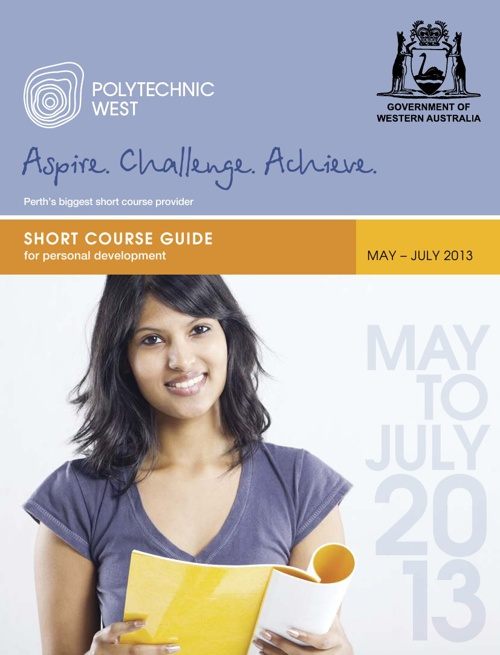 Short Course Guide May-July 2013