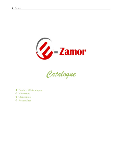 E-zamor catalogue