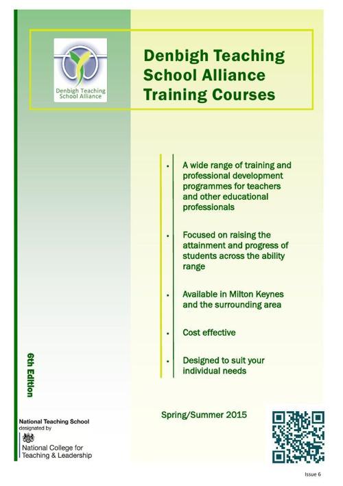 DTSA Course Brochure Spring/Summer 2015