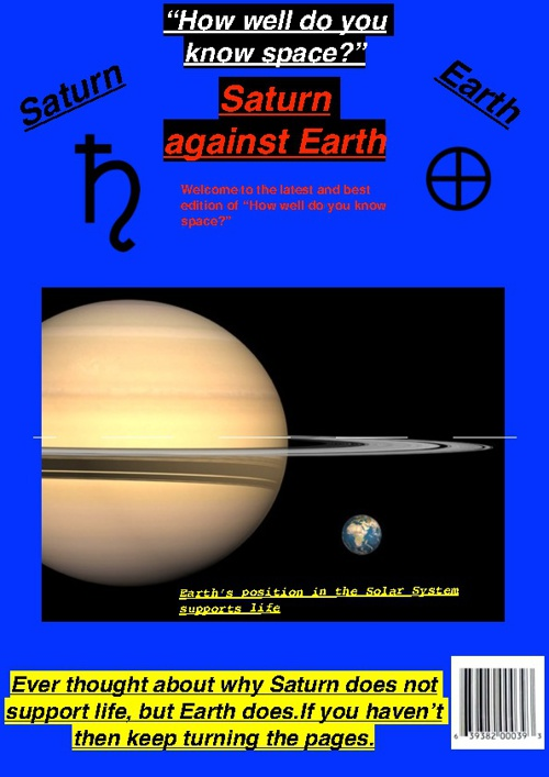 Saturn Against Earth Summative Assessment G4