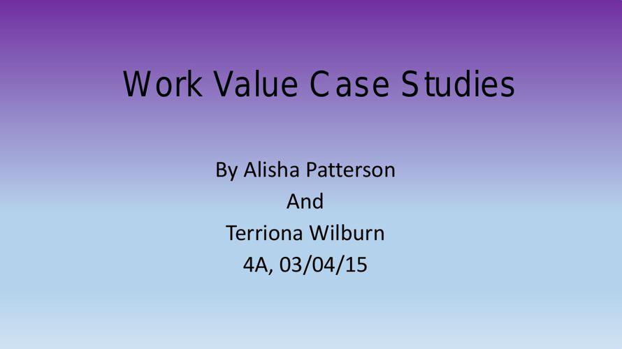 Std4_Work Value Case Study_Alicia4A