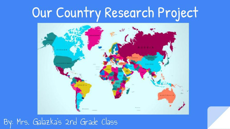 Our Country Research Project-Galazka
