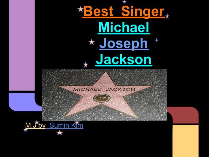 Best  Singer  Michael  Jackson