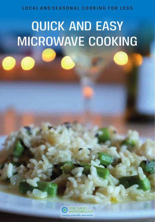 Real Food Works Microwave Cookbook
