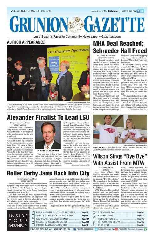 Grunion Gazette | March 21, 2013