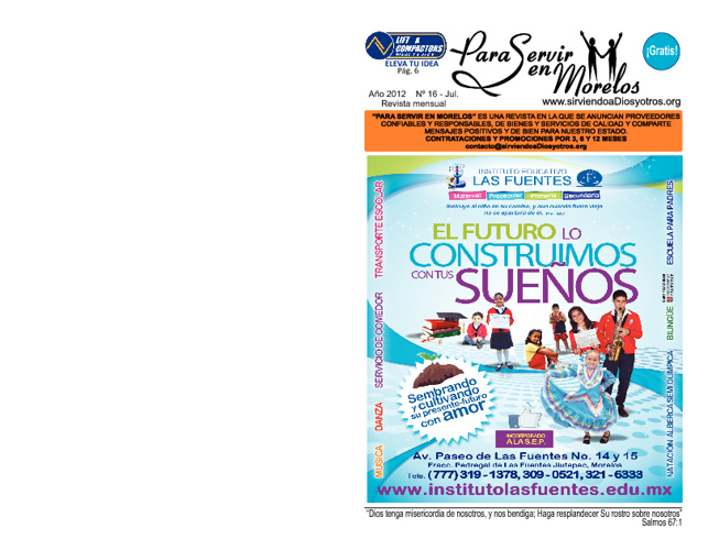 Para Servir en Morelos - Julio 2012
