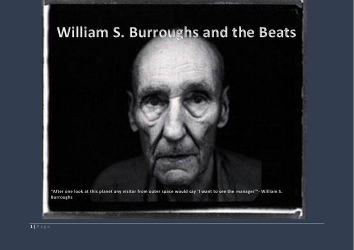 William Burroughs and The Beats Magazine