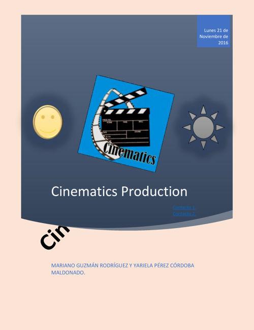 Cinematics Production 2