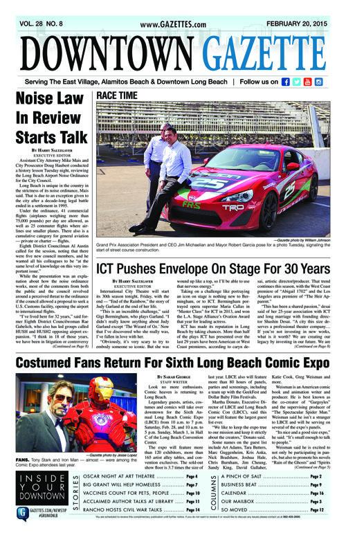 Downtown Gazette  |  February 20, 2015
