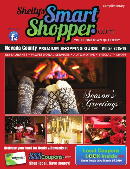 Shelly's Smart Shopper - Nevada County Winter 2015/2016