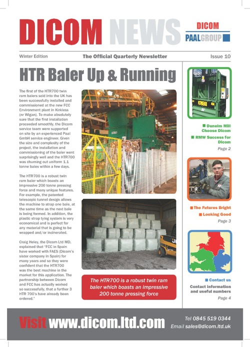 Newsletter  Issue 10 Winter