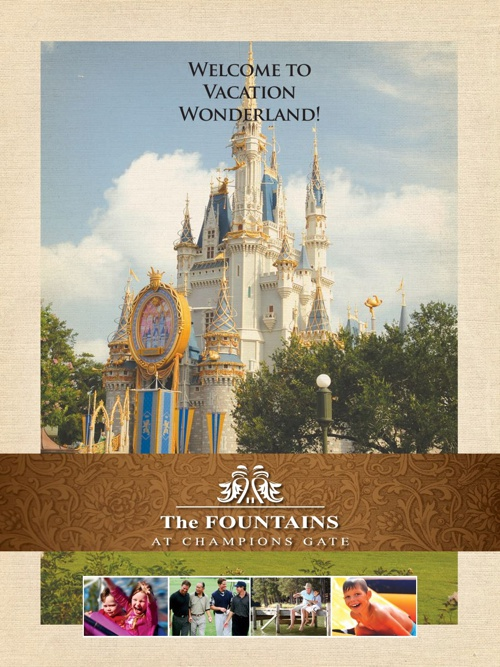 Fountains At Champions Gate Flip Book US Version