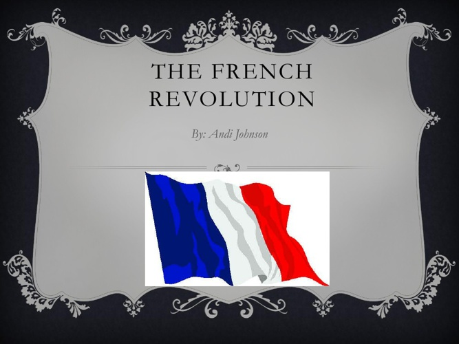 French Revolution Andi Johnson