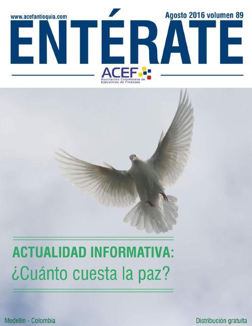 ACEF ENTÉRATE  AGOSTO 2016
