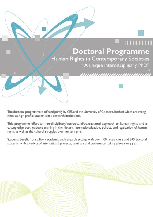PhD Human Rights in Contemporary Societies