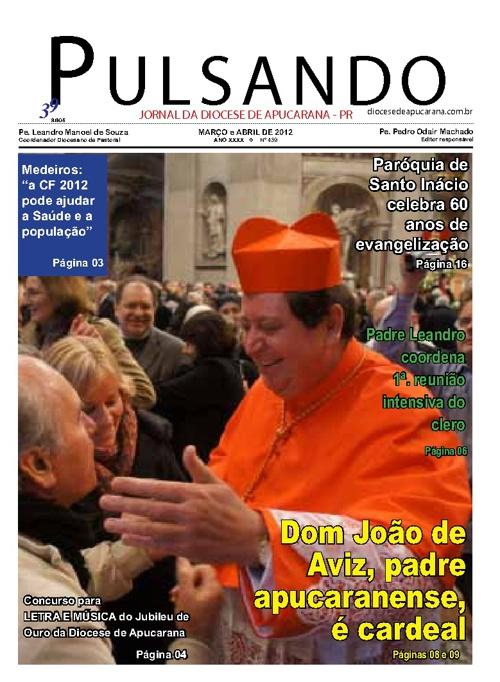 JORNAL PULSANDO MARÇO E ABRIL 2012