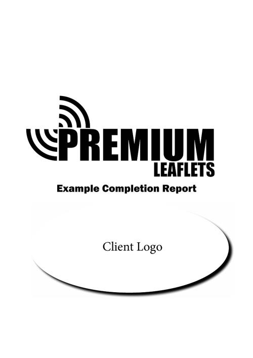 Premium Leaflet example report