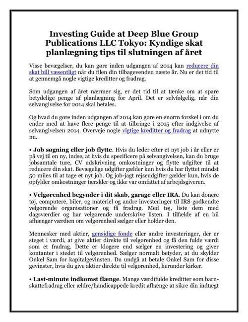 Investing Guide at Deep Blue Group Publications LLC Tokyo: Kyndi