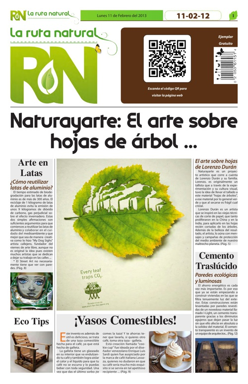 "Periódico ""La Ruta Natural"" 2"