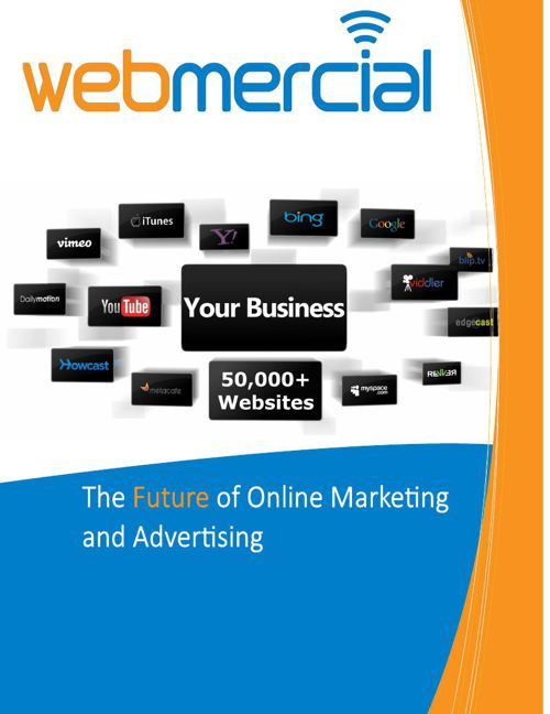 Webmercial Brochure flip version