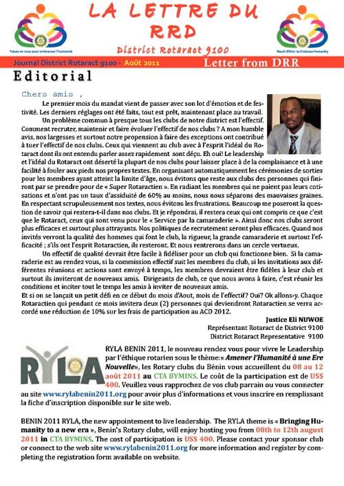 DRRs Newsletter