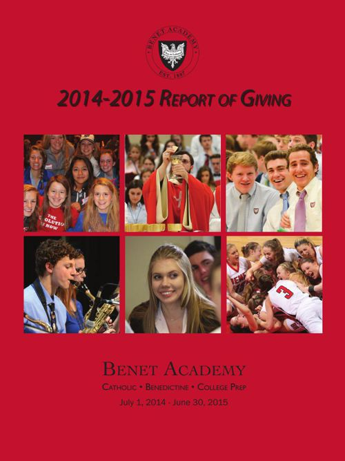 2014-2015 Annual Report of Giving