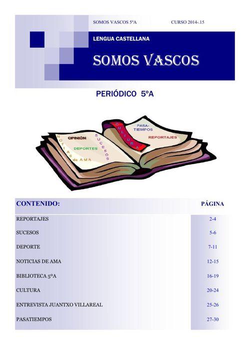 SOMOS VASCOS 5ºA