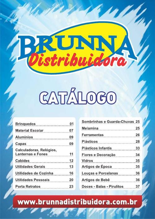 Catálogo Brunna Distribuidora (Alfenas-MG)