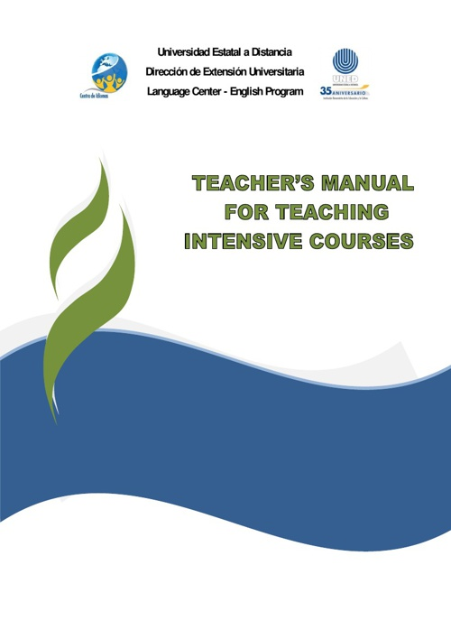 Manual for Intensive Courses