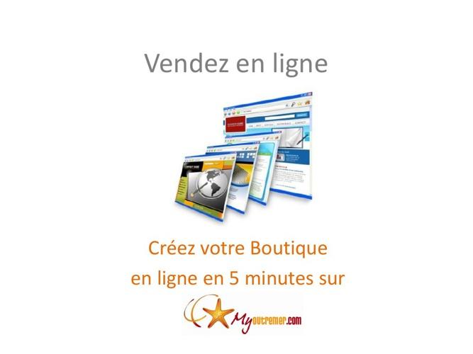 Vendez en ligne sur MyOutremer.com