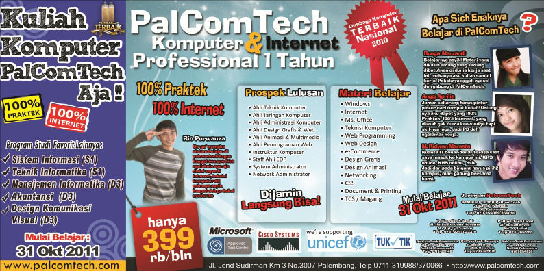 PalComTech Program Professional 1 Tahun (31 Okt 2011)