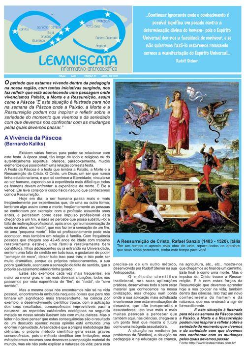 1 Edição - Lemniscata Informativo Antroposófico