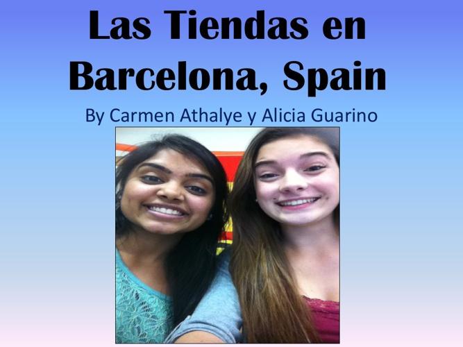 Las Tiendas En Barcelona, Spain