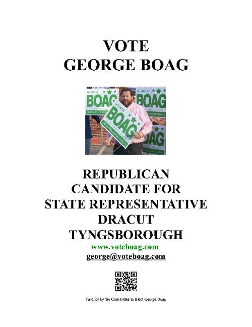 Vote Boag Leaflet