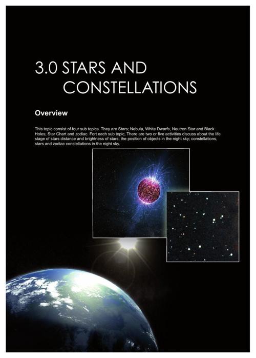 3.0 Stars and Constellation