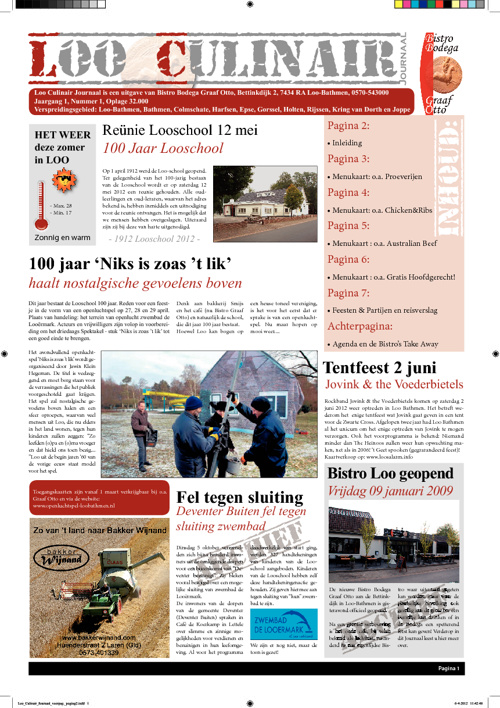 Loo Culinair Journaal