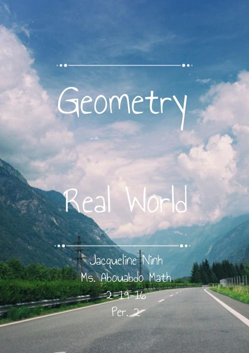 Jacqueline Ninh's Geometry Vocabulary
