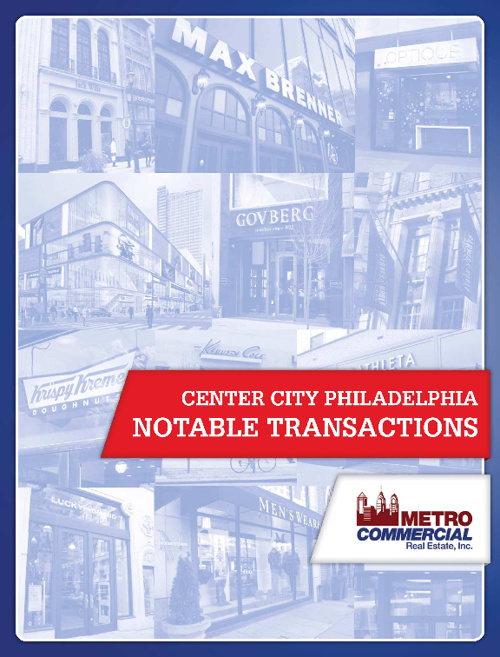 Metro Commercial Notable Center City Transactions