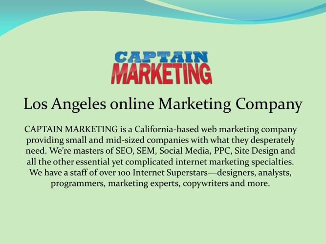 Los Angeles online Marketing Company