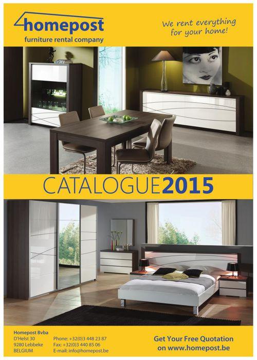 Homepost Furniture Rental Catalogue