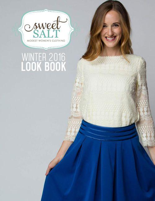 Sweet Salt Clothing Winter 2016 Look Book