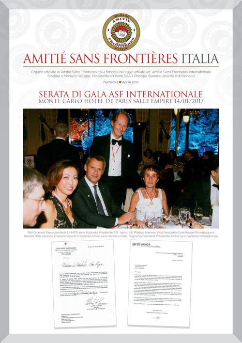 Amitiè Sans Frontieres_Rivista Aprile 2017