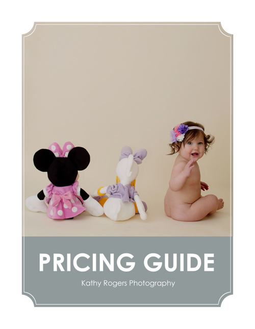 Kathy Rogers Photography 2014 Pricing Guide