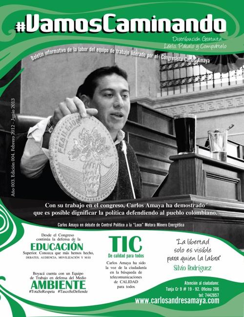 Periodico #VamosCaminando