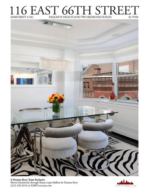 116 East 66th Street Apartment 9-10C