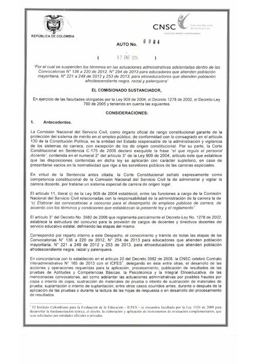 comision del estado civil