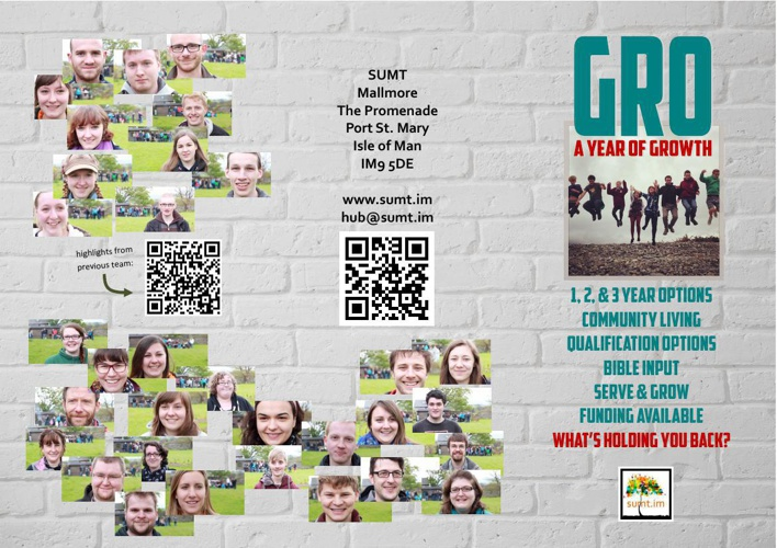 GRO Opportunities leaflet SUMT 2014-15