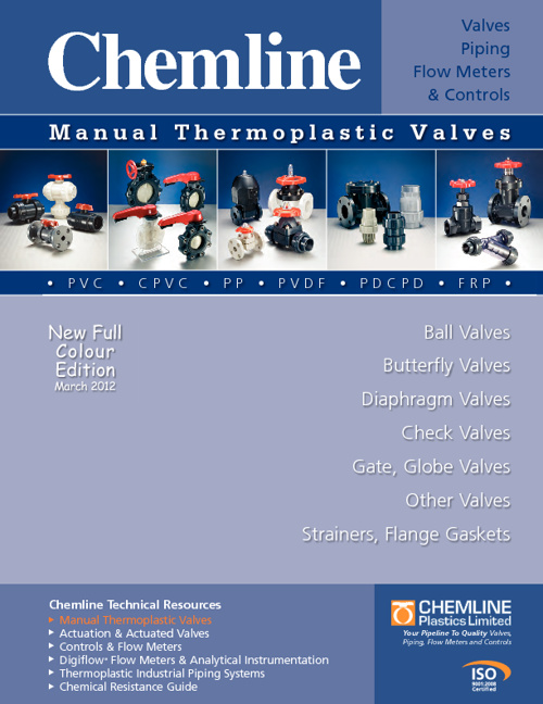 Chemline Manual Valves Catalog 2012