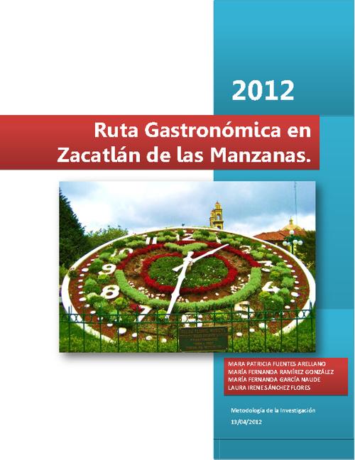 Ruta Gastronómica en Zacatlán de las Manzanas, Puebla